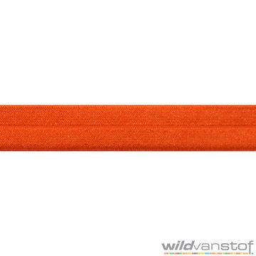 Stretch biaisband - oranje 099