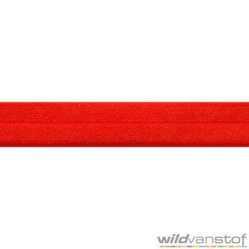 Stretch biaisband - rood 029