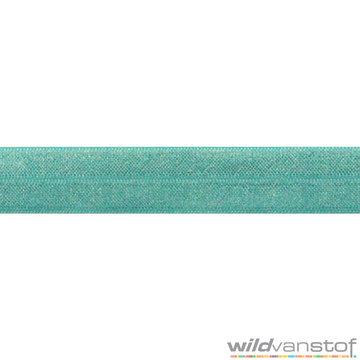 Stretch biaisband - turkoois 070
