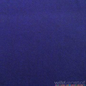 Nicky velours - Koningsblauw 106