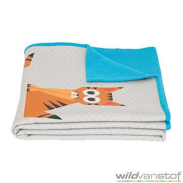 Plaid tijger blauw