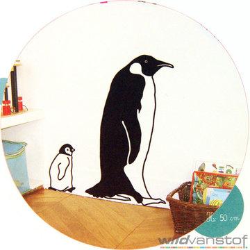 Muursticker pinguïn