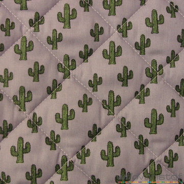 Matelassé cactussen