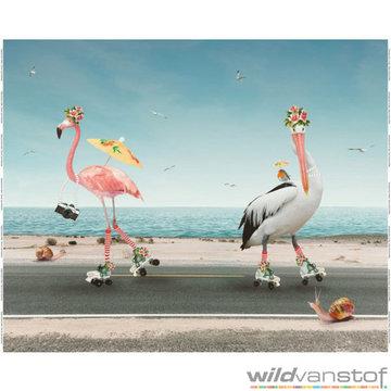Paneel flamingo's