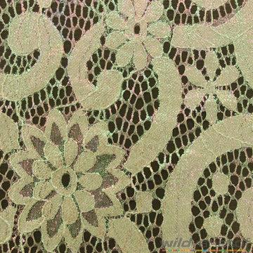 Kant groen met glanzend kleureffect