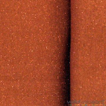 Glitter boordstof - Roest met brons