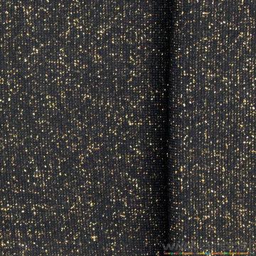 Glitter boordstof - Marine met goud