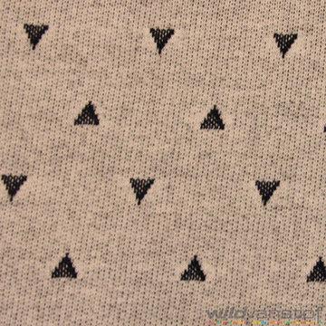 Donkergrijze driehoekjes op grijs