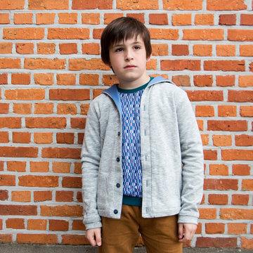 Zonen 09 Ole voor tieners - cardigan (10-16j)