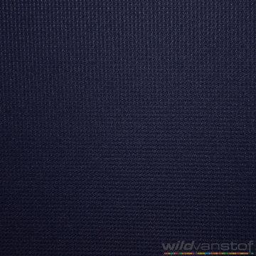 Polyester gewafeld marineblauw