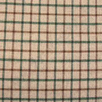 Carreaux groen-bruin op grijs