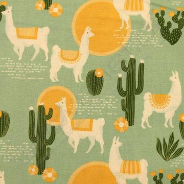 Lama's op groen