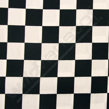 Dambord zwart-wit