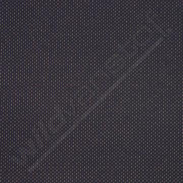 Punta donkerblauw met fijn wit streepje