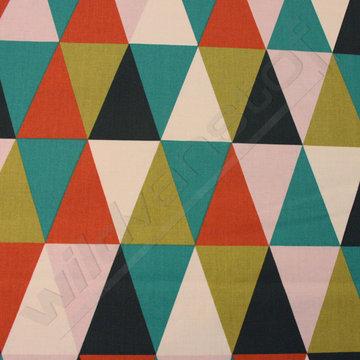 Geometrische driehoeken groot