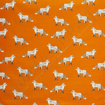 Canvas fox