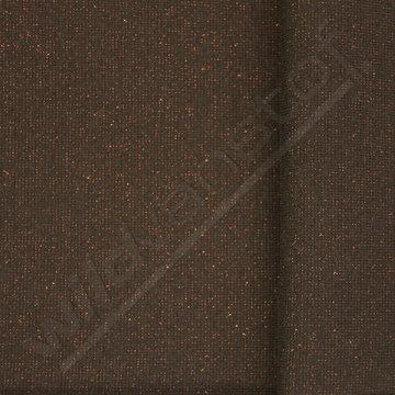 Glitter boordstof - Zwart met brons