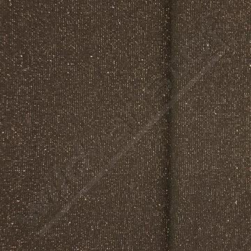 Glitter boordstof - Zwart met zilver