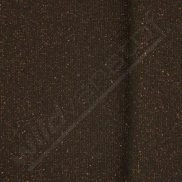 Glitter boordstof - Zwart met goud