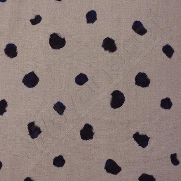 Donkerblauwe bollen op grijs
