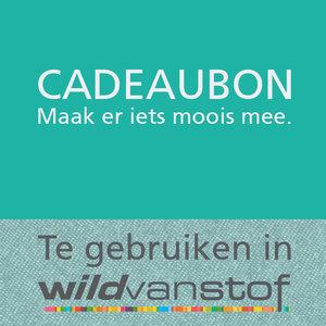 Kadobon voor in Wild van stof