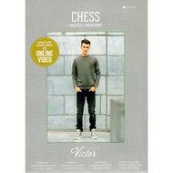 la maison victor chess sweater sweatshirt