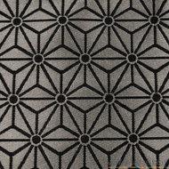 Kubus zwart blauw grijs wild van stof stoffenwebshop grootste aanbod in leuke stoffen online for Kubusgordijnen