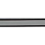 Elastiek 18 mm - Grijs met fijne lijn_