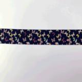 Elastiek 25 mm - Vlinders_