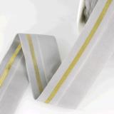 Bias Elastiek 40mm - Met glitterlijn_