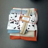 Stoffenpakket - Cirri handtas colorblock met jeans_