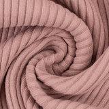 Boordstof - Rib roze_