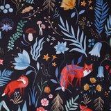Softshell - Dieren in het donkere bos_