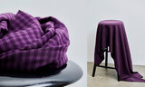 Tencel - Vichy purple night_