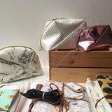 Stoffenpakket - Geo bag klein (roze)_