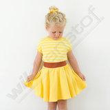 French terry - Playtime Habanero Yellow_