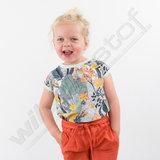 Katoen Twill - Playtime Ginger spice_
