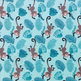 Flanel - Aapjes in de jungle