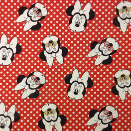 Tricot - Minnie Mouse op polka dot