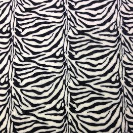 Wellness fleece - Zebraprint