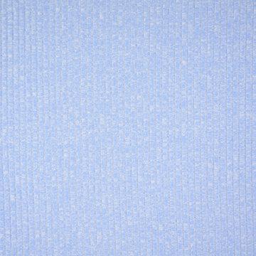 Jersey - Lichtblauw met ribbel gemeleerd