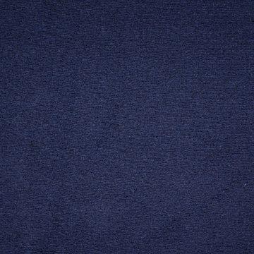 Wol - Donkerblauwe dikke mantelwol
