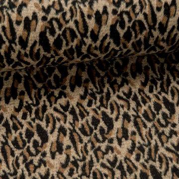 Mantelstof - Fibremood luipaard