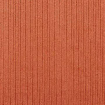 Ribfluweel - Dikke ribbel zalmoranje
