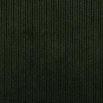 Ribfluweel - Dikke ribbel  kakigroen