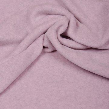 Fleece - gerecycleerd  lichtroze gemeleerd