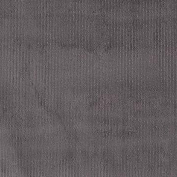Ribfluweel - Dikke ribbel grijs