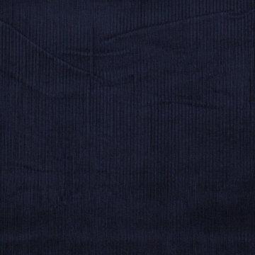 Ribfluweel - Dikke ribbel donkerblauw