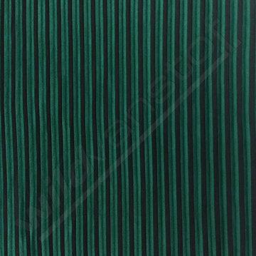 Plisse - Groen zwart lmv