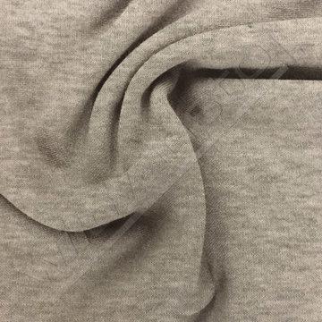 Gebreid - Doubleface grijs beige lmv